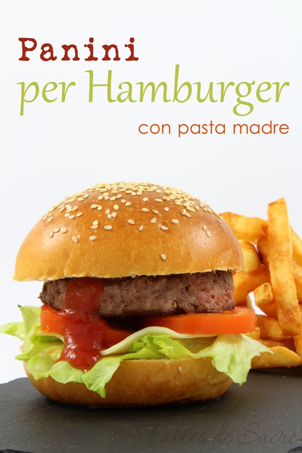 Amato Panini per hamburger con pasta madre | Fables de sucre TX01