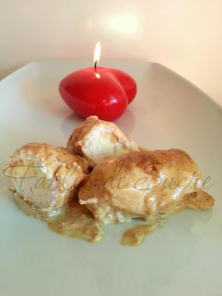 Involtini di pollo dal cuore morbido
