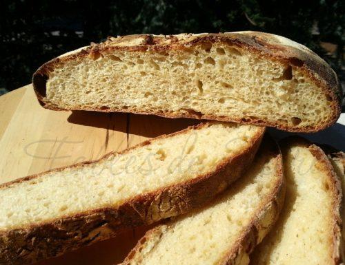 Pane di semola con pasta madre a doppio impasto