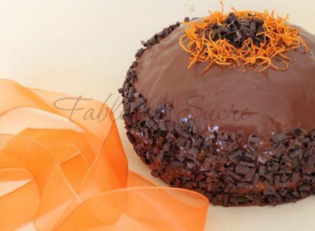 Colomba all'arancia e cioccolato fondente
