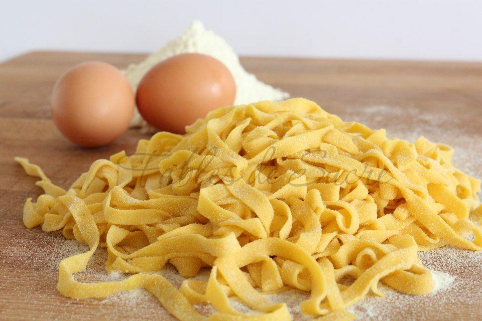 Ricetta pasta fresca all'uovo dosi
