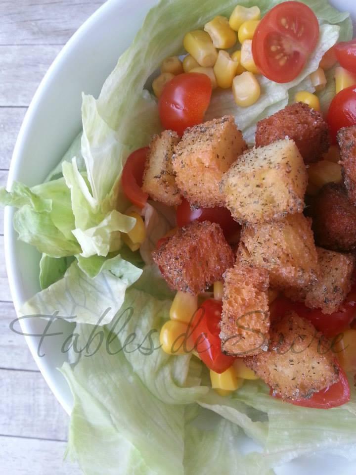 Crostini per insalata