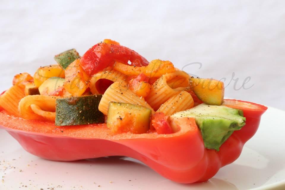 Mezze maniche alle verdure