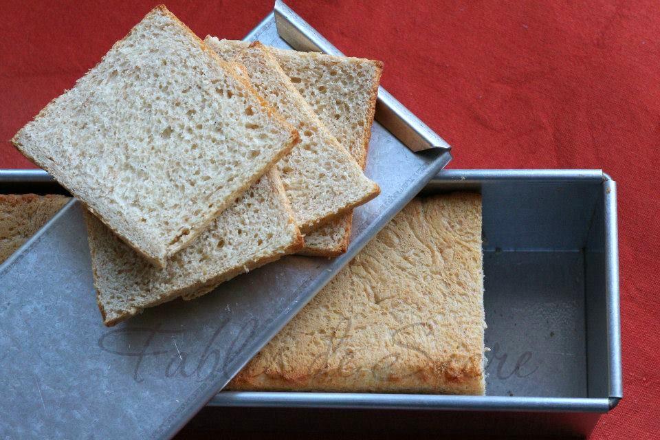 Pan carré integrale con pasta madre