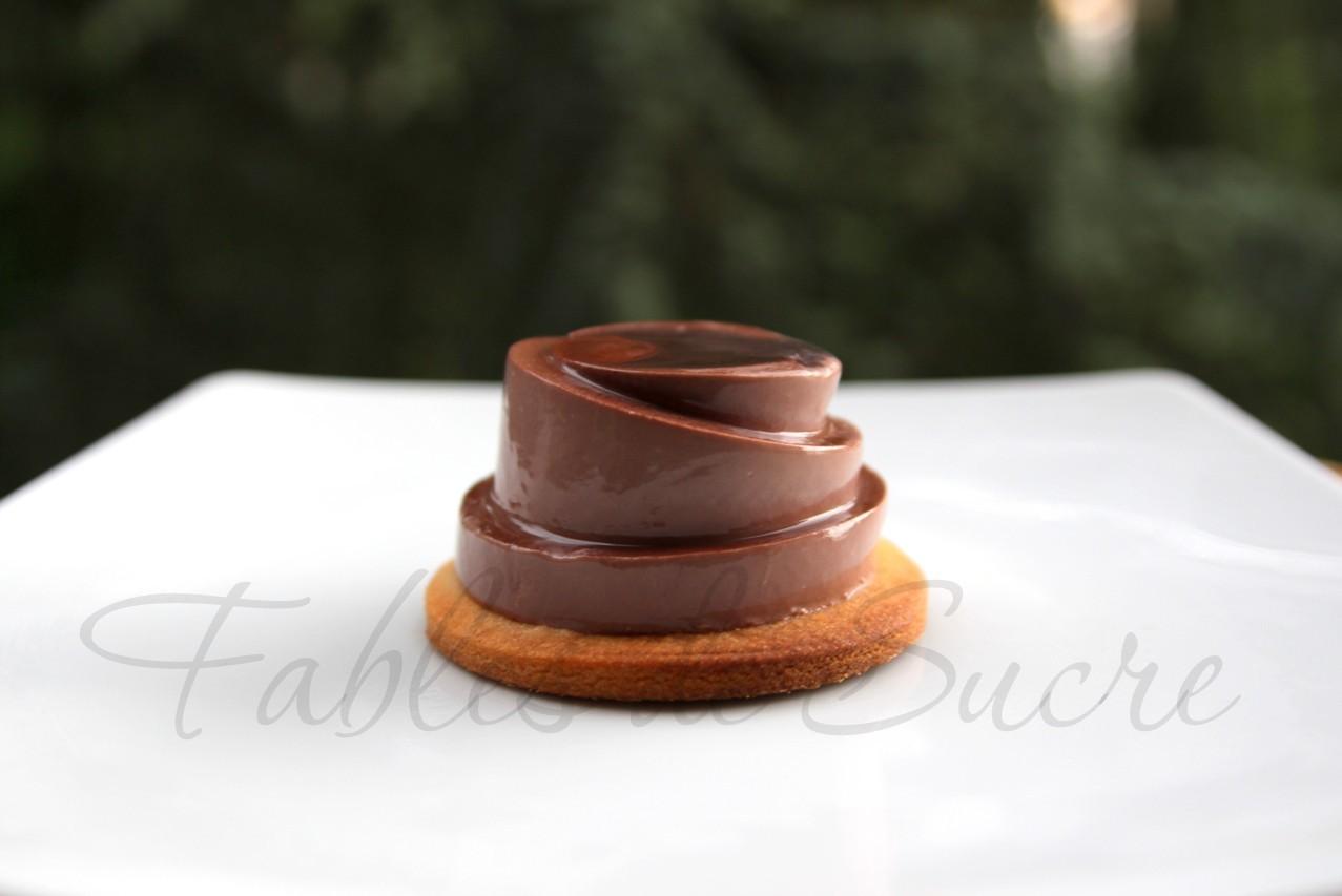 Panna cotta al cacao