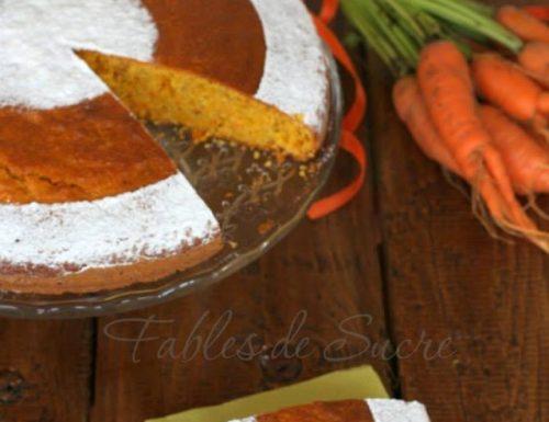 Torta alle carote e mandorle ricetta