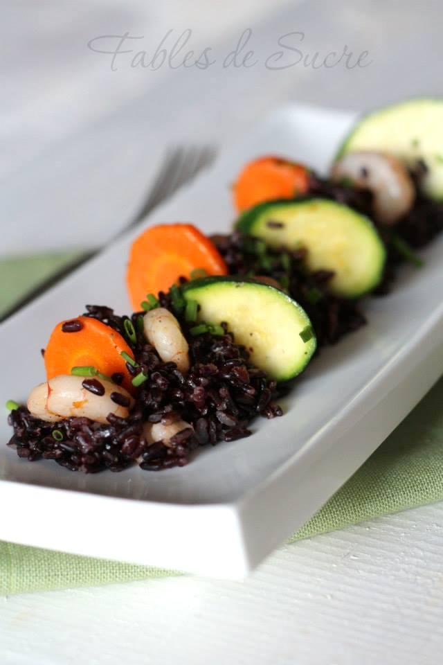 Insalata di riso venere ricetta
