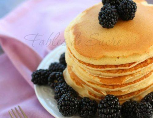 Pancakes con more ricetta