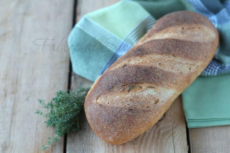 Pane al timo con pasta madre