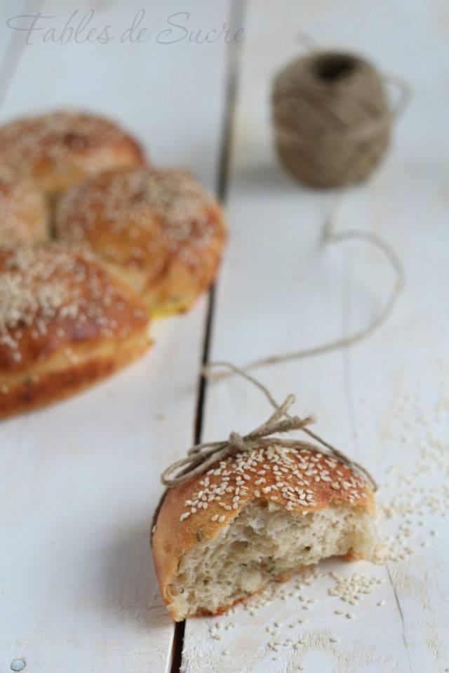 Pane di patate con erba cipollina