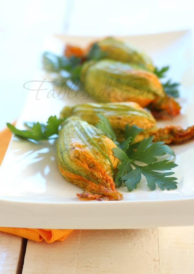 Fiori di zucca ripieni ricetta