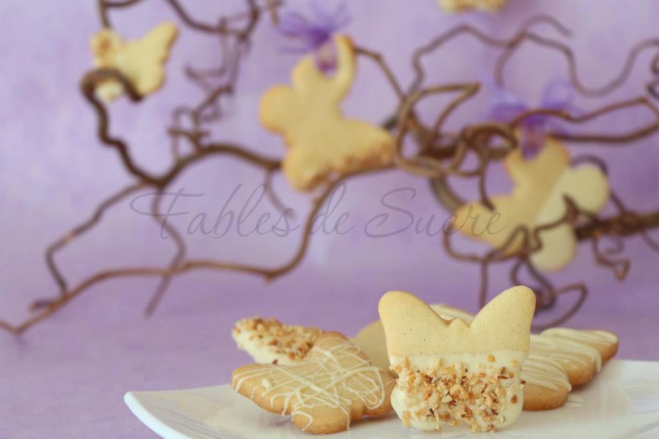 Biscotti di pasta frolla alle mandorle