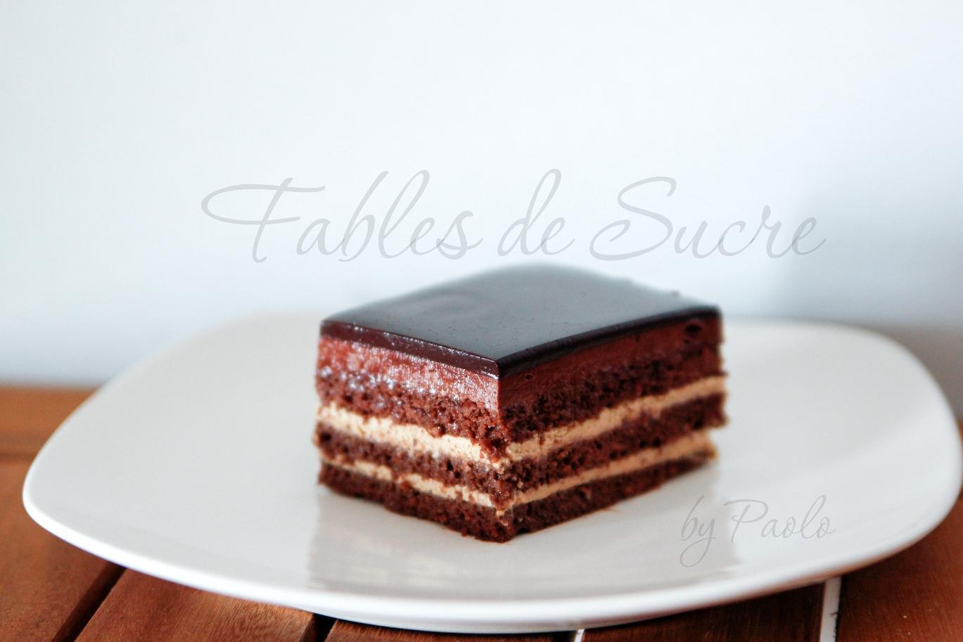 Torta Opera Ricetta Dolce Fables De Sucre