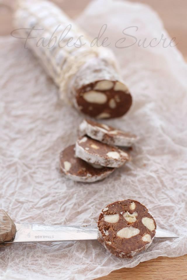 Salame al cioccolato di Beppe Allegretta