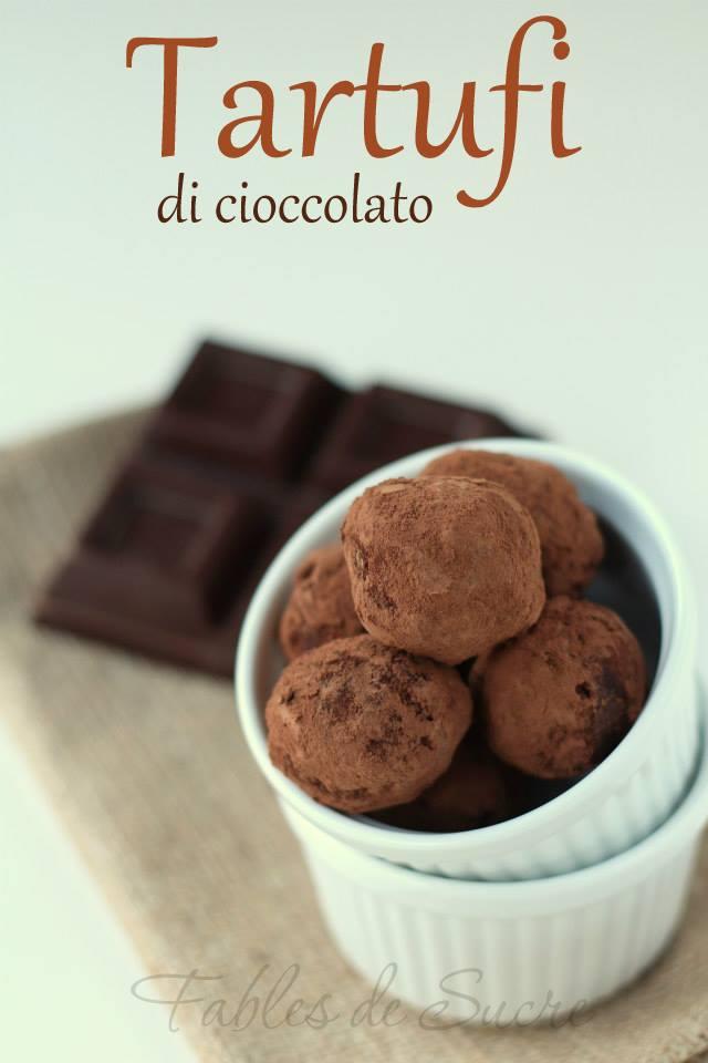 Ricetta Salame Al Cioccolato Montersino.Tartufi Di Cioccolato Di Montersino Fables De Sucre
