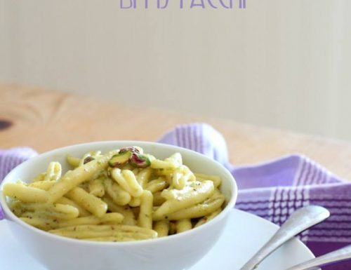 Pesto di pistacchi e panna
