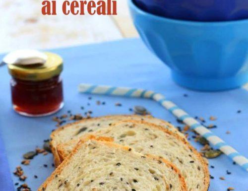 Pan bauletto con lievito madre ai cereali