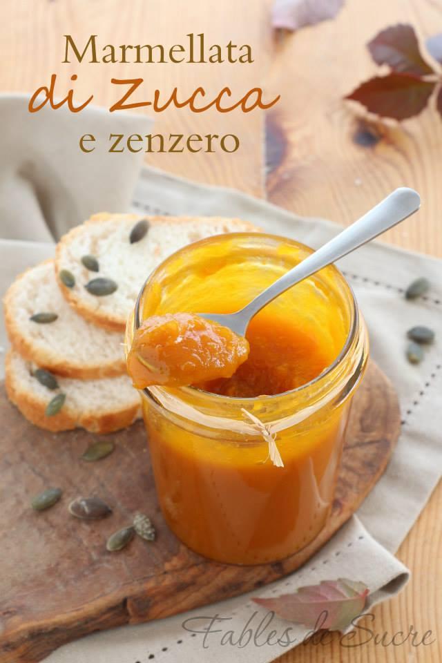 marmellata di zucca e zenzero