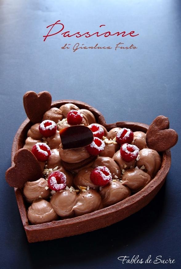 crostata cioccolato lamponi