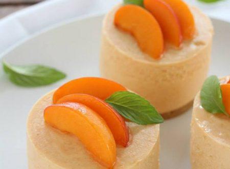 Cheesecake alle albicocche monoporzione