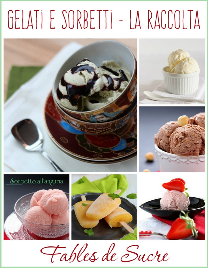 gelati e sorbetti