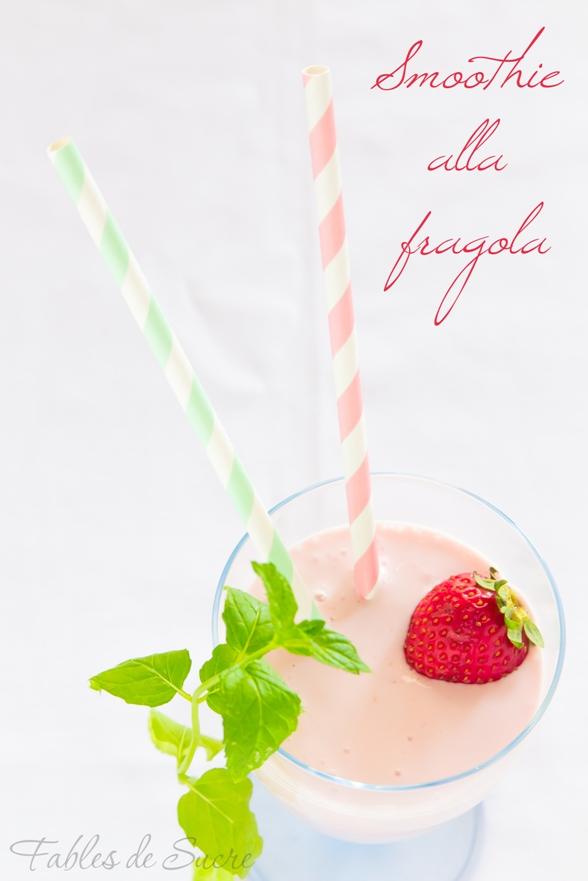 smoothie alla fragola