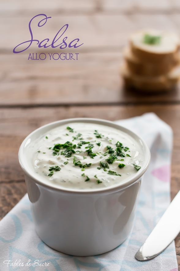 Salsa allo yogurt