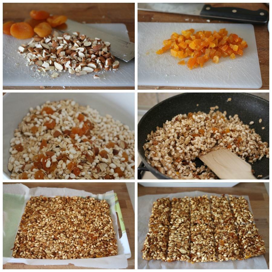 Collage barrette ai cereali