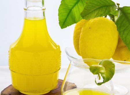 Limoncello o liquore al limone