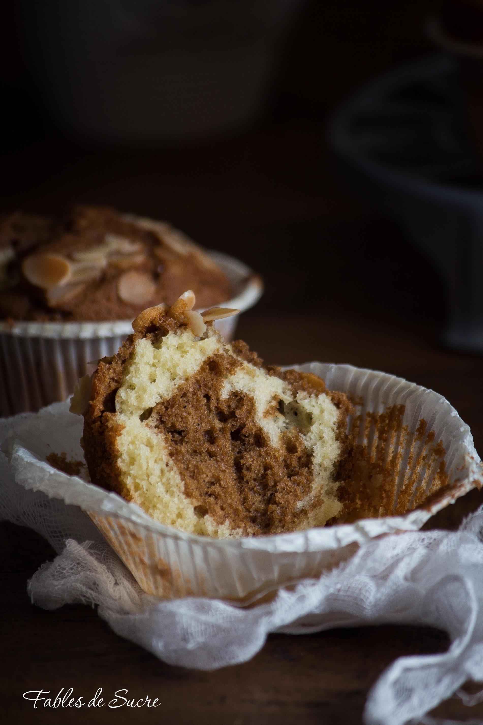 Cupcakes marmorizzati al caffè3