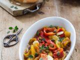 Insalata di peperoni al forno
