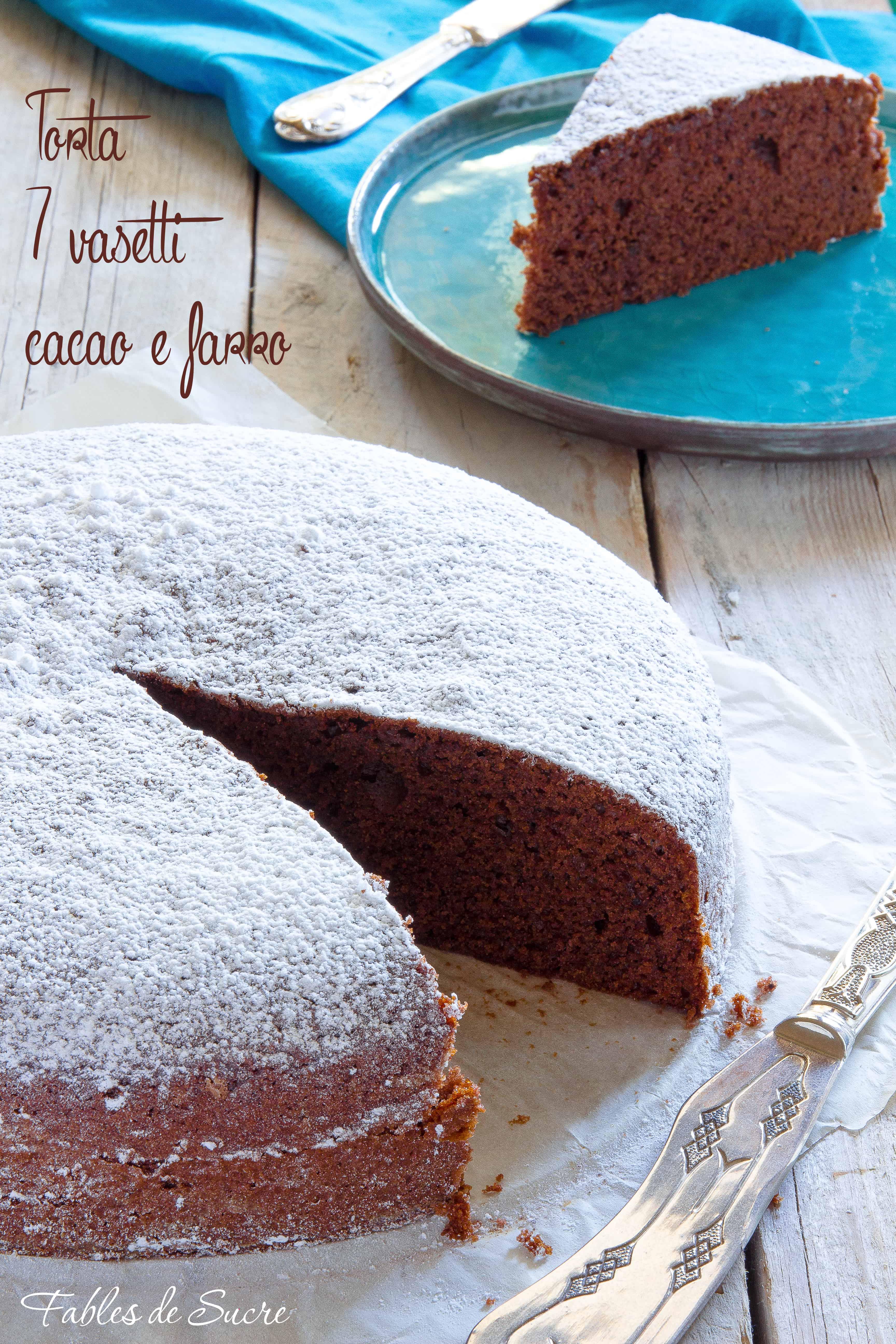 torta sette vasetti al cacao