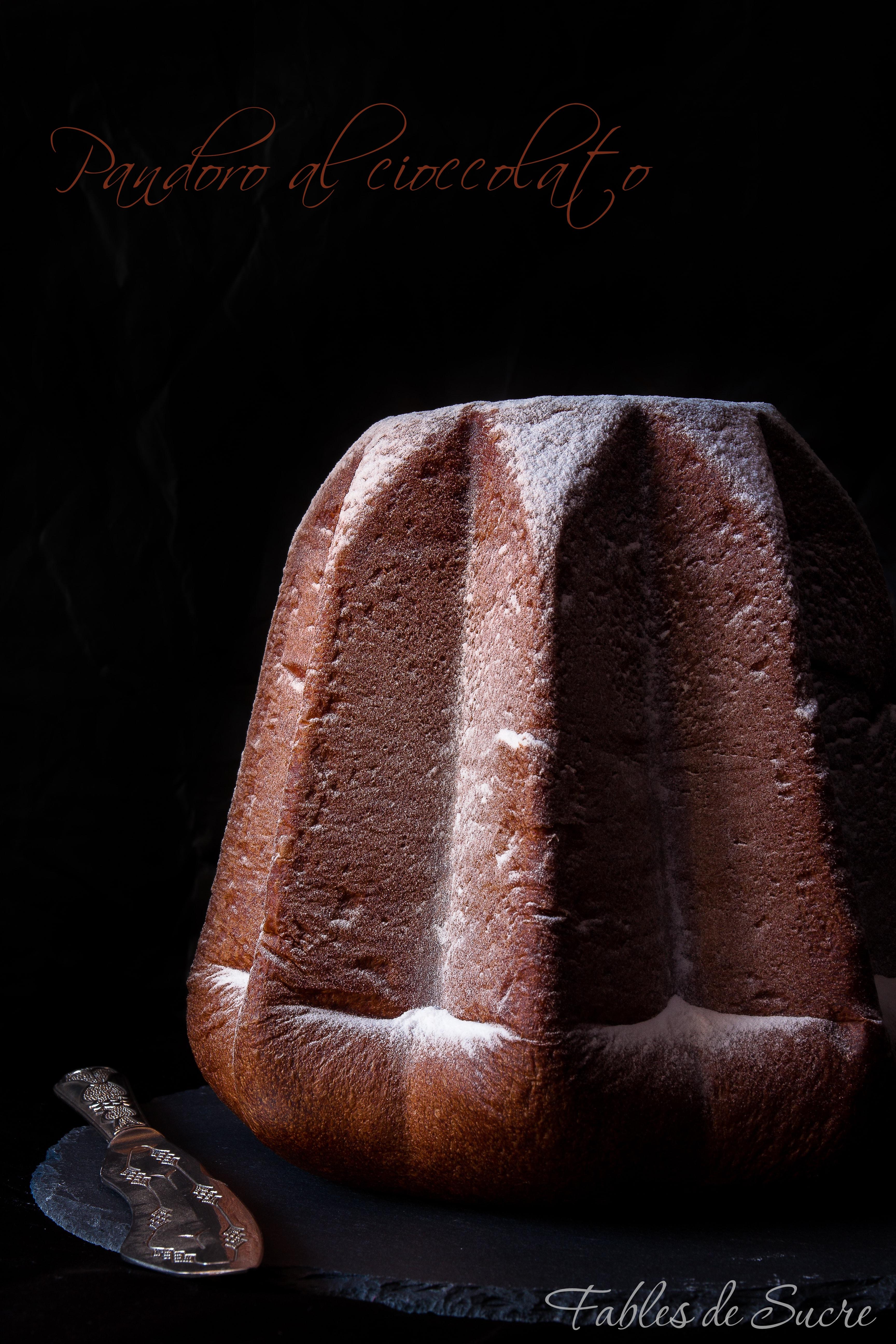 Pandoro al cioccolato
