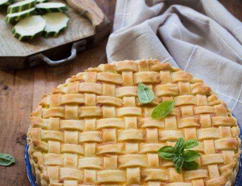 Quiche alle zucchine con pasta brisé
