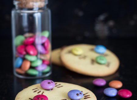 Biscotti agli smarties