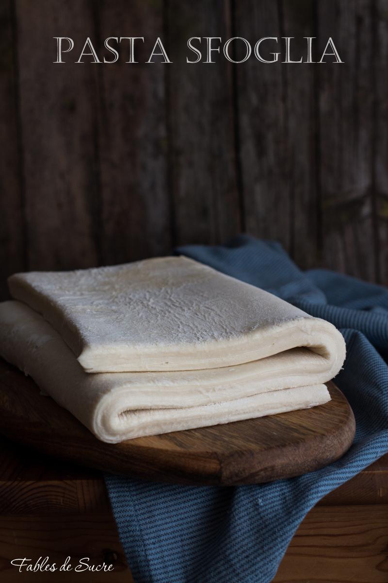 Pasta Sfoglia Fatta In Casa Fables De Sucre