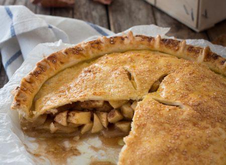 Apple pie ricetta  – Torta di Nonna Papera