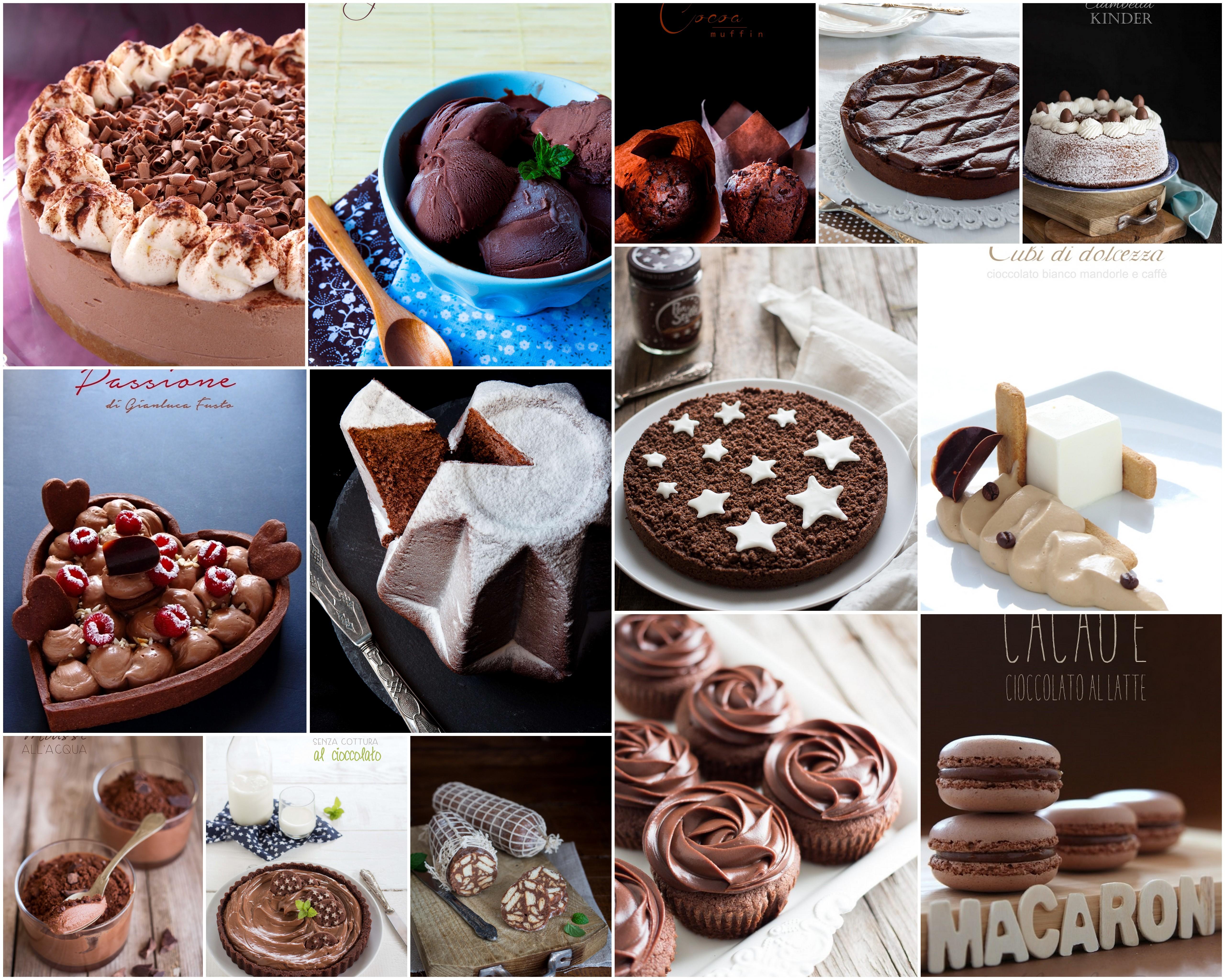 Cioccolato - Tutte le nostre ricette