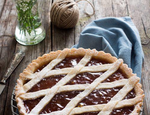 Crostata con pasta frolla all'olio – senza burro