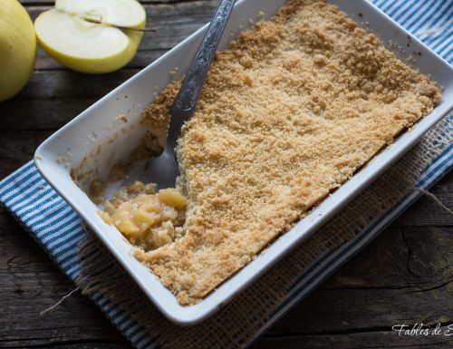 Crumble di mele al forno – Apple crumble