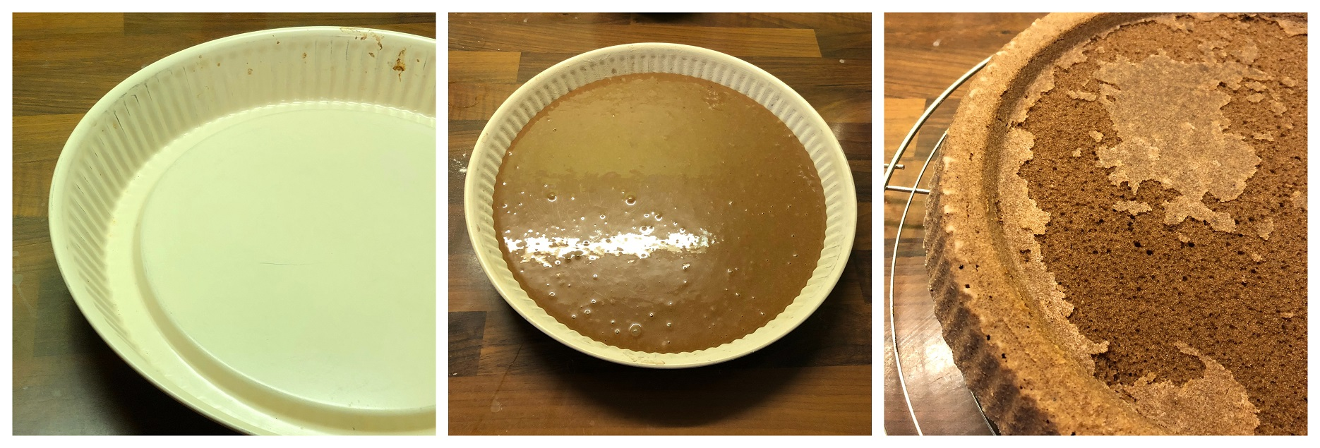 crostata morbida al caramello
