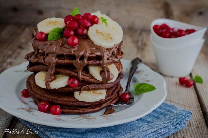 pancake al cacao