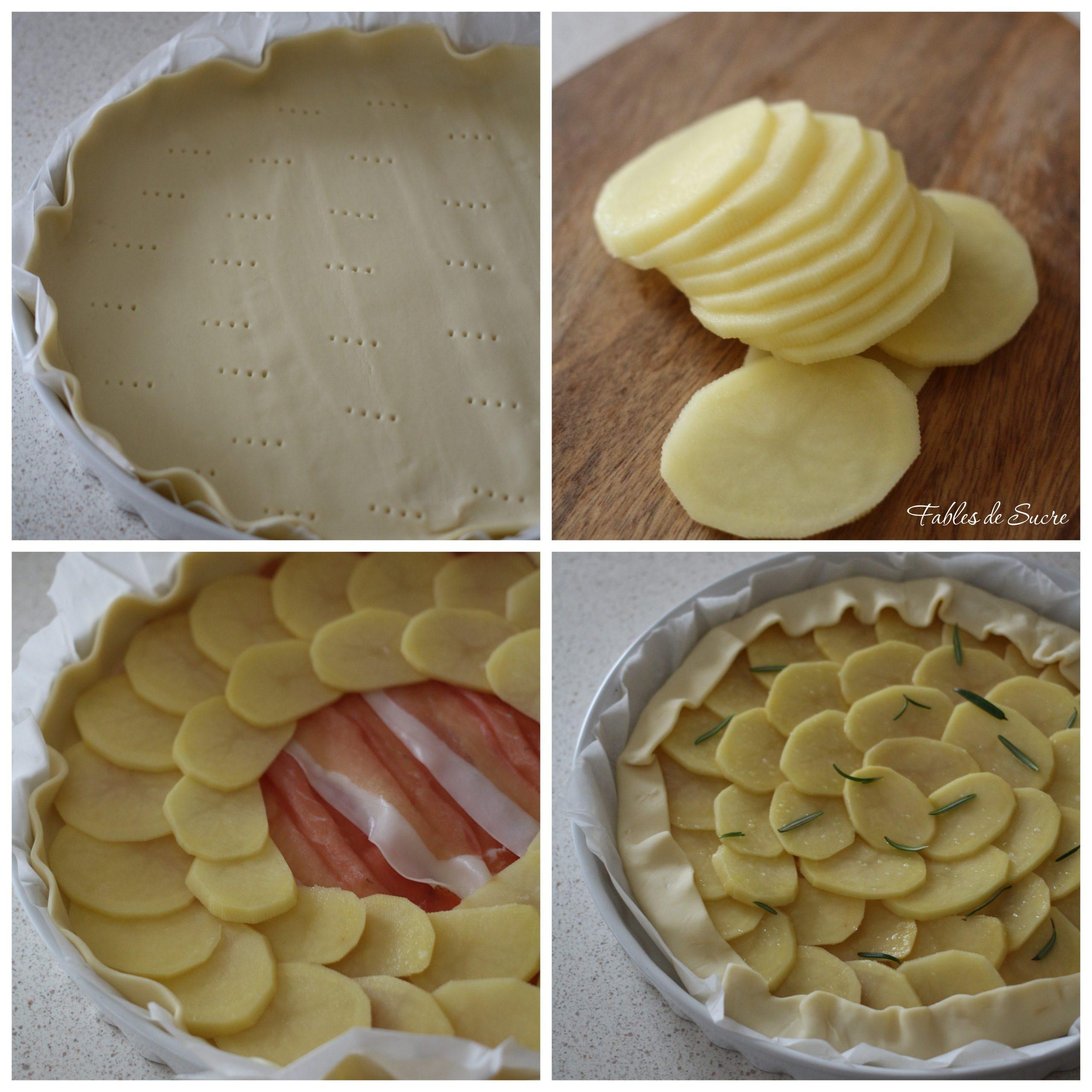 torta salata patate e speck