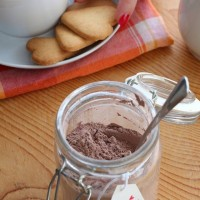 Preparato per cioccolata calda in tazza