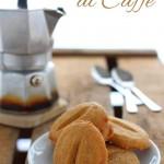 Biscotti al caffè friabili