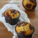 Muffins banana e cioccolato fondente