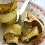 Zucchine sott'olio ricetta