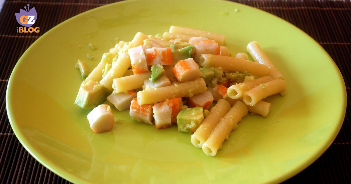 Pasta granchio e avocado facile cucinare for Cucinare granchio