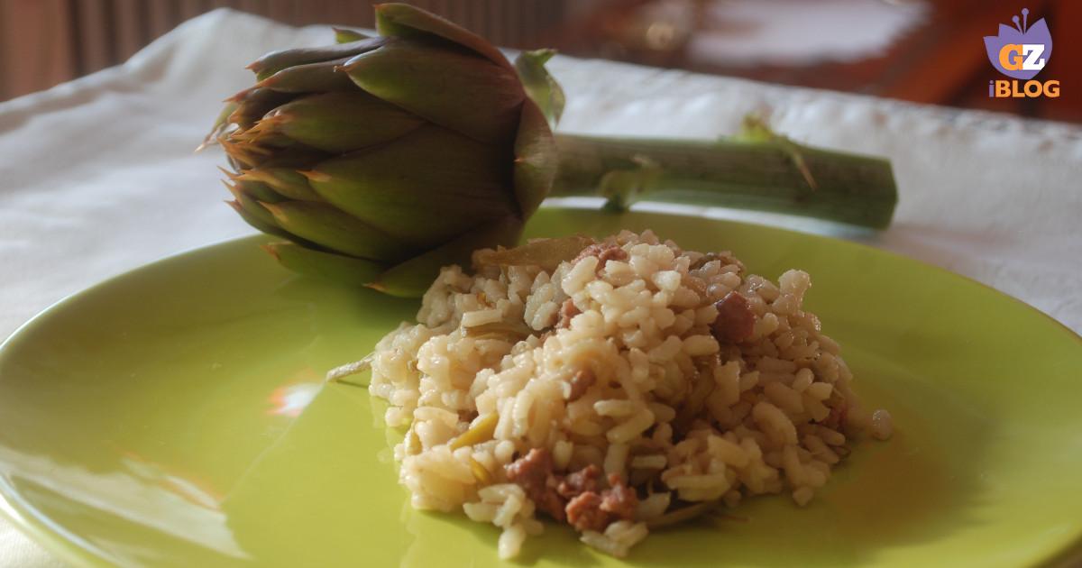 Risotto carciofi e salsiccia facile cucinare for Cucinare salsiccia
