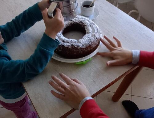 Torta Nesquik e panna🍩